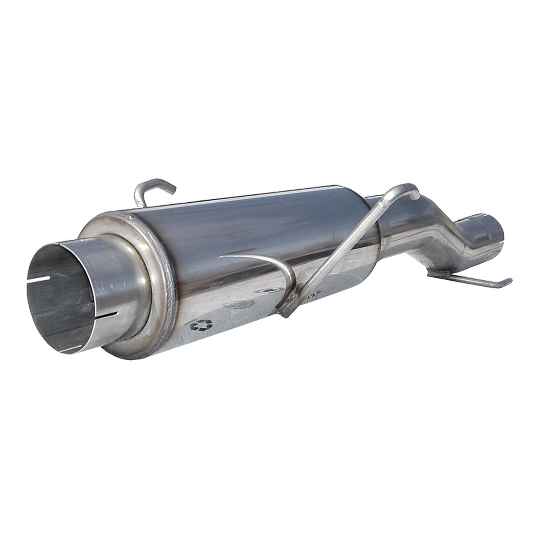 MBRP MDA36 Installer Series Single System muffler Delete Pipe Aluminized